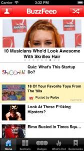 BuzzFeed-app