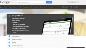 Google Adwards Contact Us
